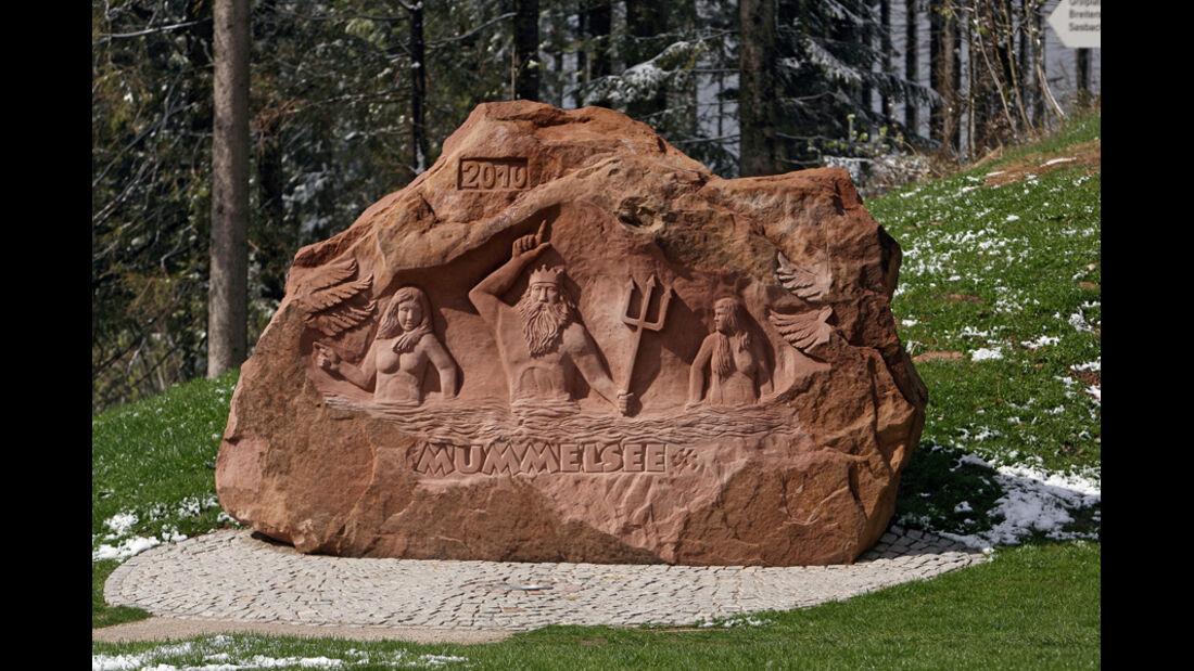 Skulptur, Neptun, Mummelsee