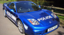 Skurrile Polizeiautos, Streifenwagen, Honda NSX