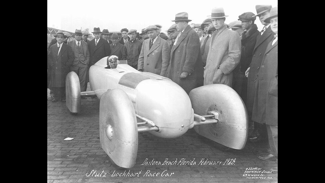 Skurrile Rennwagen beim Indy 500