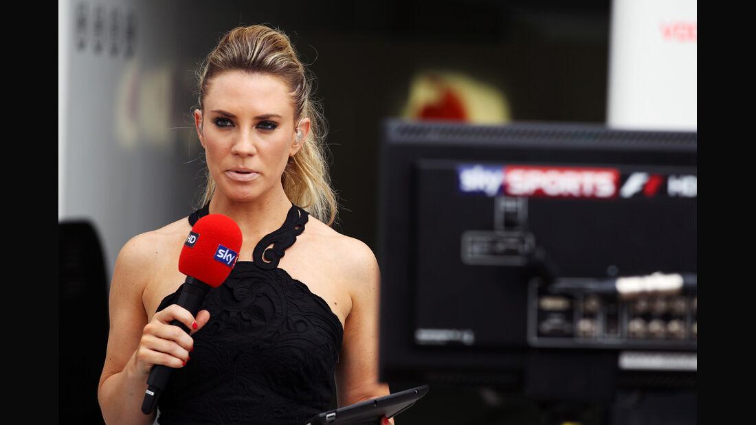Sky Reporterin Georgie Thompson - GP Malaysia - 24. März 2012
