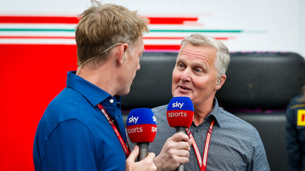 Sky TV England - Johnny Herbert - 2018