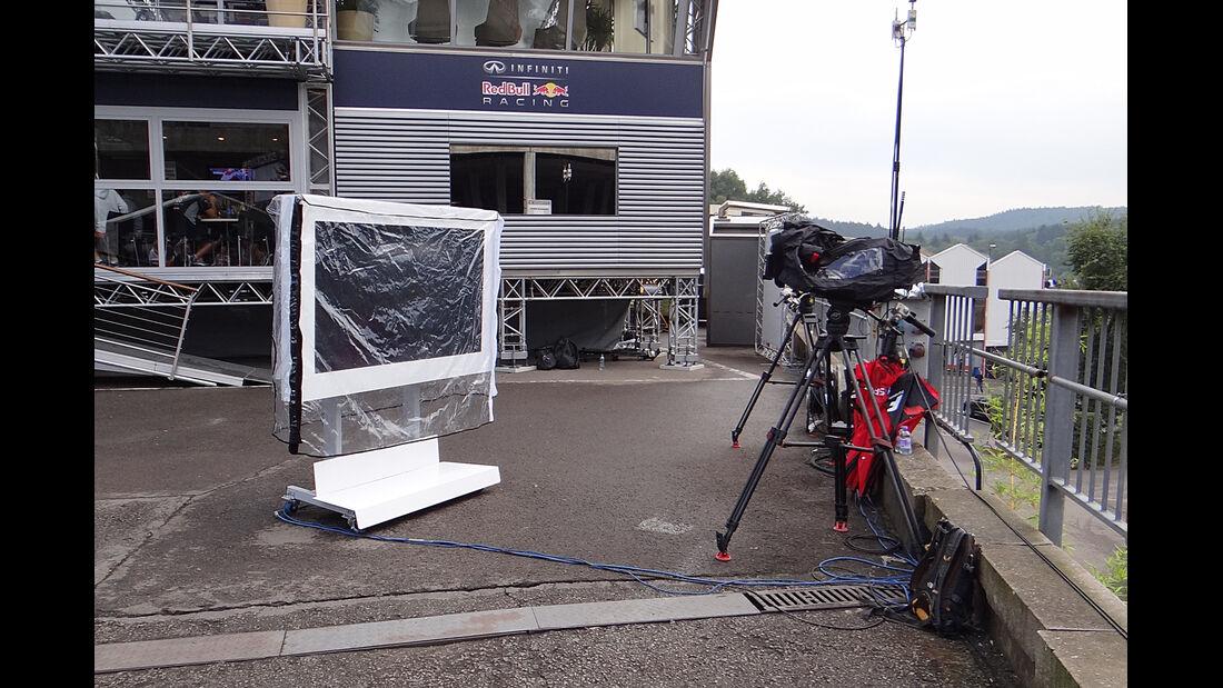 Sky TV - Formel 1 - GP Belgien - Spa Francorchamps - 23. August 2013