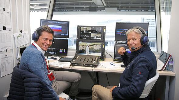 Sky TV - Marc Surer & Sascha Roos - Formel 1