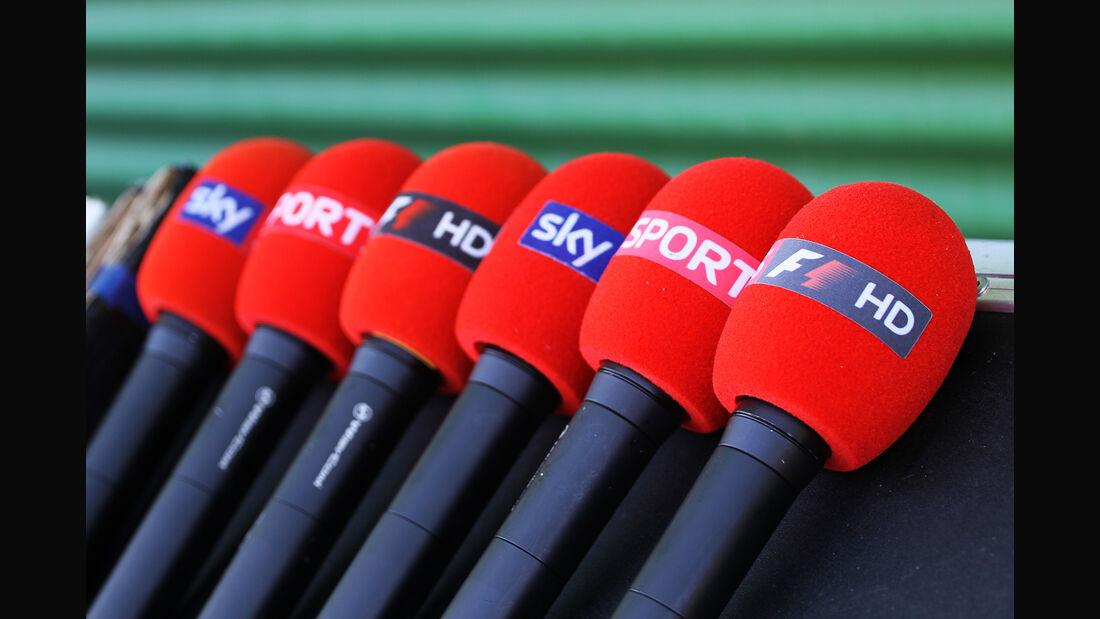 Sky TV - Mikrofone