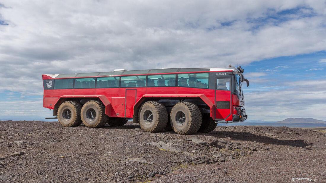 Sleipnir Glacier Truck