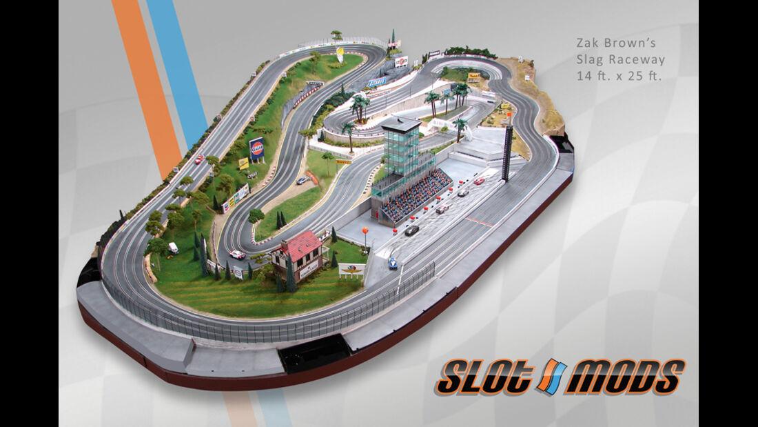 Slotcar-Bahn