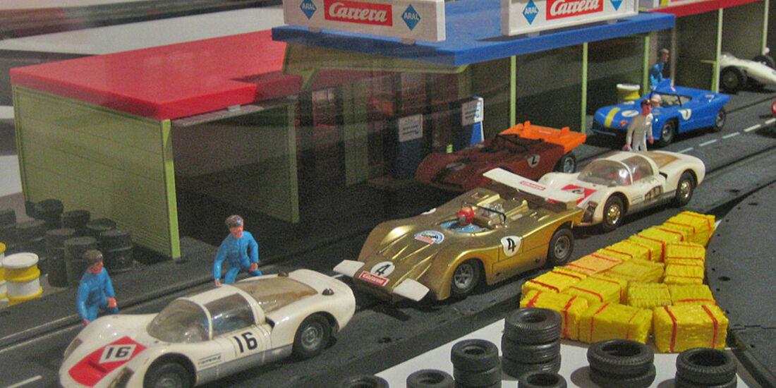 Slotcar Ausstellung in Balingen: 100 Jahre Carrerabahn und
