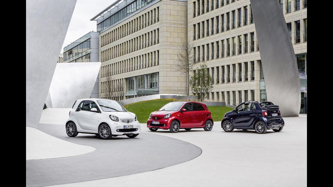 Smart Brabus, Auto China 2016, Coupé, Forfour, Cabrio, 04/2016