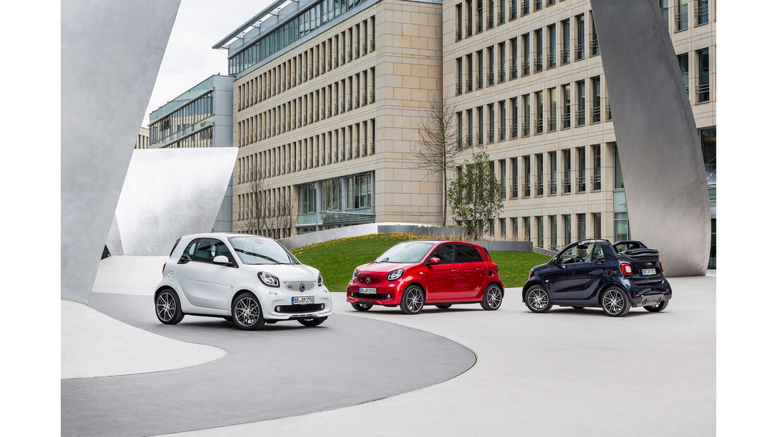 Smart Brabus Fortwo, Auswahl