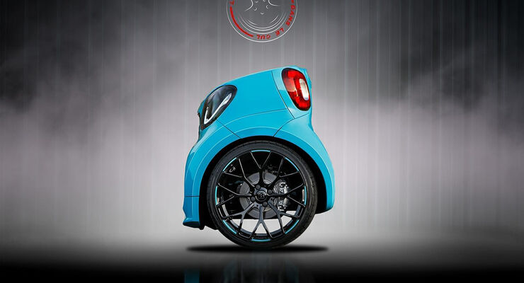 Smart Brabus Retusche