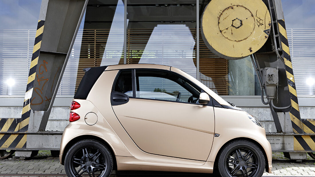 Smart Brabus Tailor made by WeSC auf der IAA