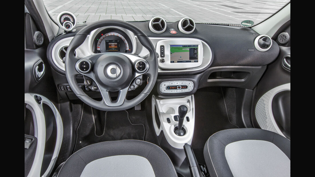 Smart, Cockpit