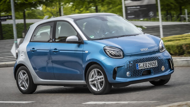 Smart EQ Forfour Passion, Exterieur