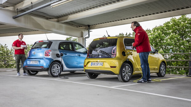 Smart EQ Forfour Passion, VW e-Up Style, Exterieur