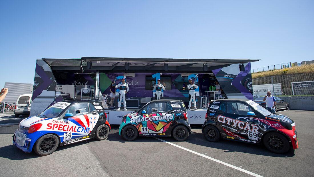 Smart EQ Fortwo E-Cup - Elektroauto-Markenpokal in Italien