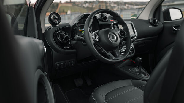 Smart EQ Fortwo, Interieur