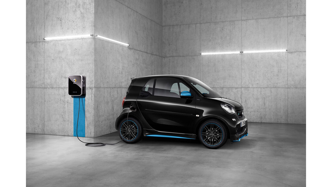 Genf 2018: smart EQ fortwo / forfour edition nightsky