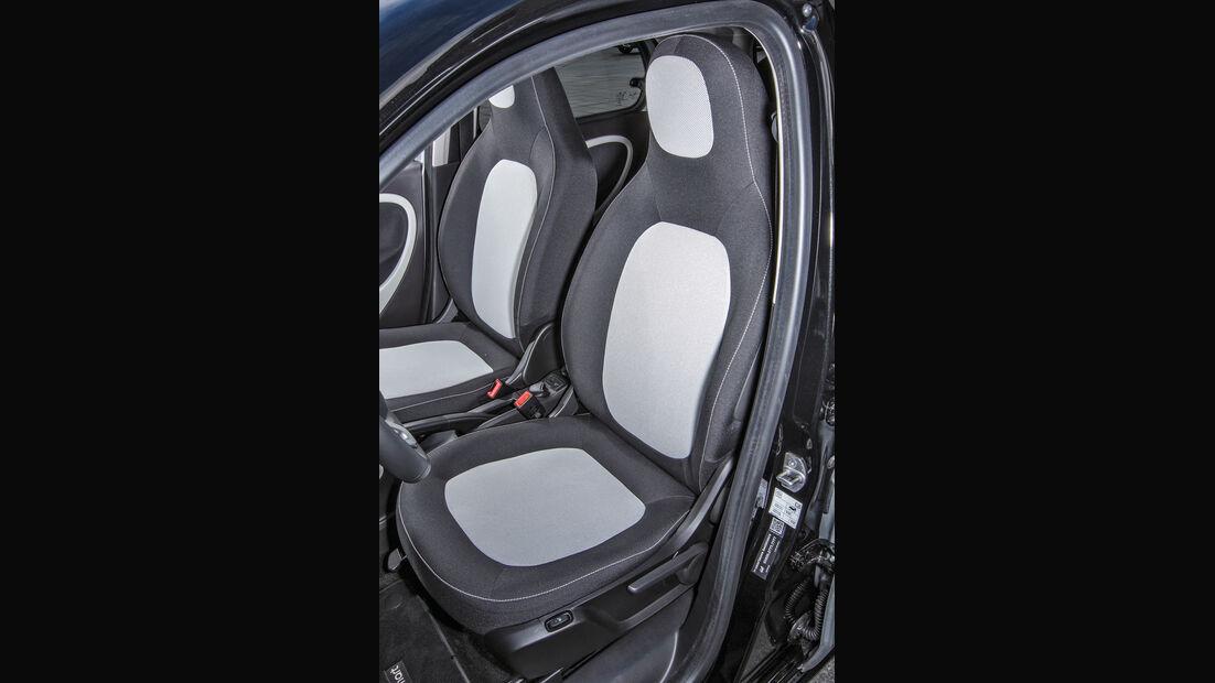 Smart, Fahrersitz