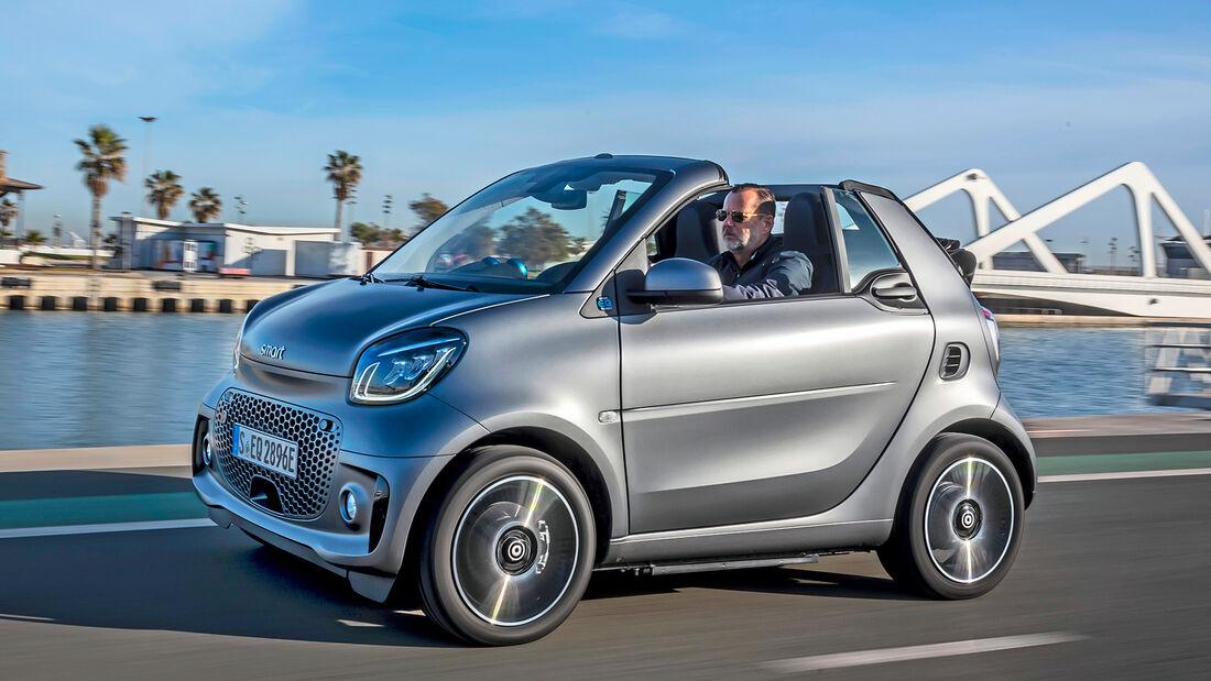 Smart ForTwo Cabrio, Exterieur