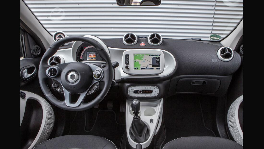 Smart Forfour 1.0, Cockpit