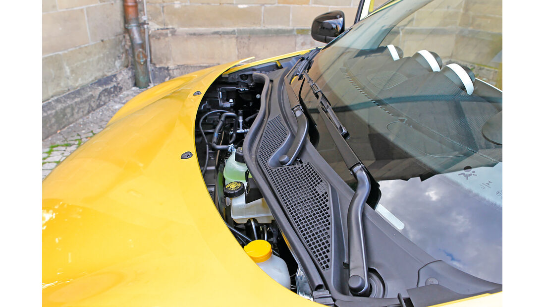 Smart Forfour 1.0, Frontscheibe