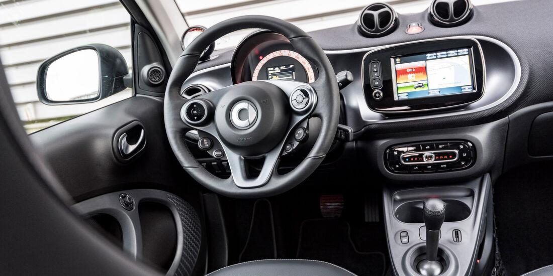 Smart Forfour Electric Drive, Cockpit