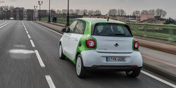 Smart Forfour Electric Drive, Heckansicht