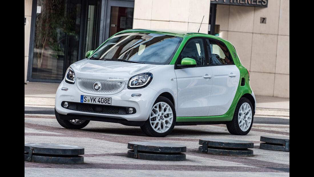 Smart Forfour Electric Drive, Seitenansicht