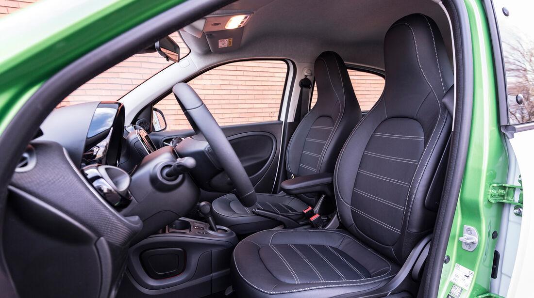 Smart Forfour Electric Drive, Sitze