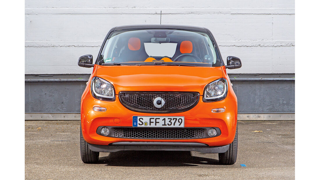 Smart Forfour, Frontansicht