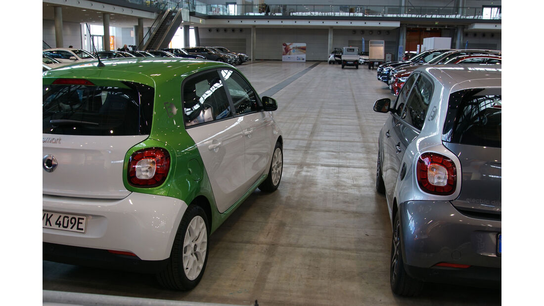 Smart Forfour electric drive - Electric Vehicle Symposium 2017 - Stuttgart - Messe - EVS30