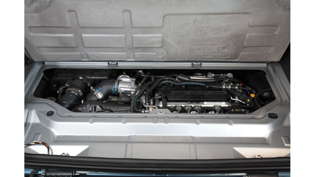 Smart Fortwo 0.8 CDI, Motor