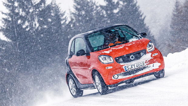 Smart Fortwo 0.9, Frontansicht