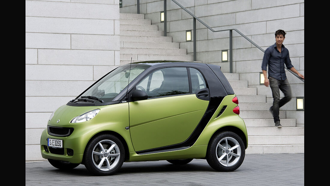 Smart Fortwo, 2010, Facelift