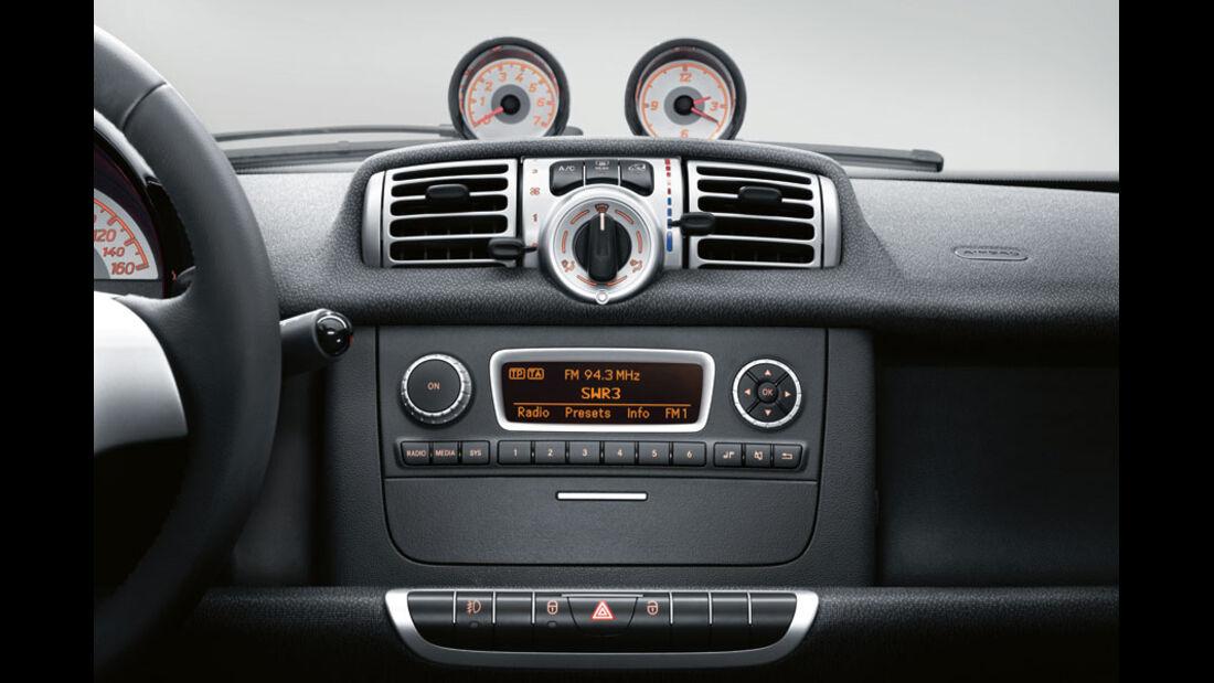 Smart Fortwo, Audio-System Basic