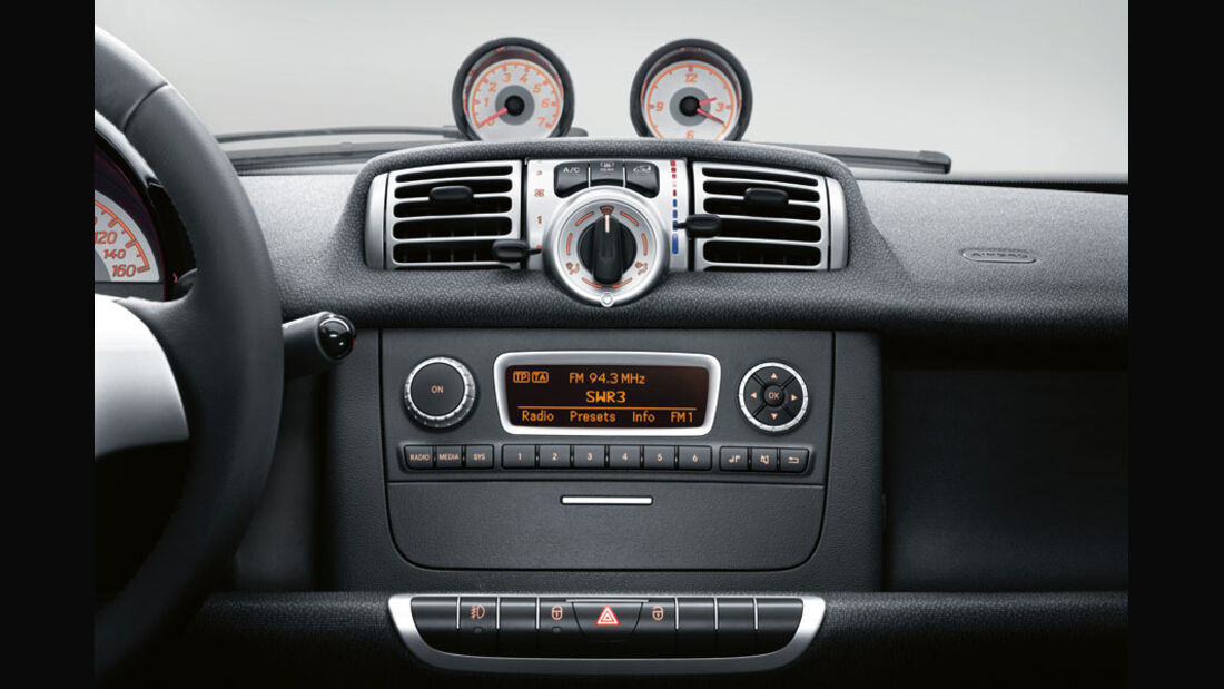 Smart Fortwo, Audio-System Basic