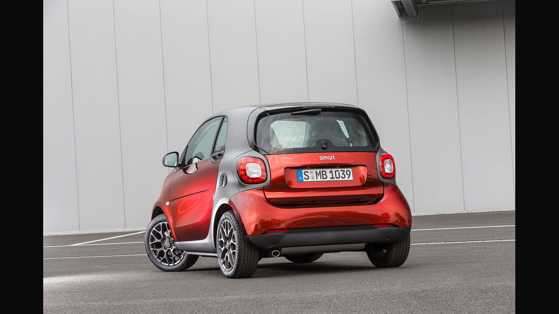 Smart Fortwo Brabus Tailor Made - Pariser Autosalon 2014 - Kleinwagen - Individualisierung