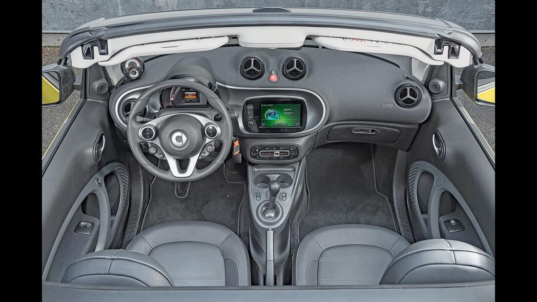 Smart Fortwo Cabrio, Cockpit