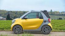 Smart Fortwo Cabrio, Seitenansicht