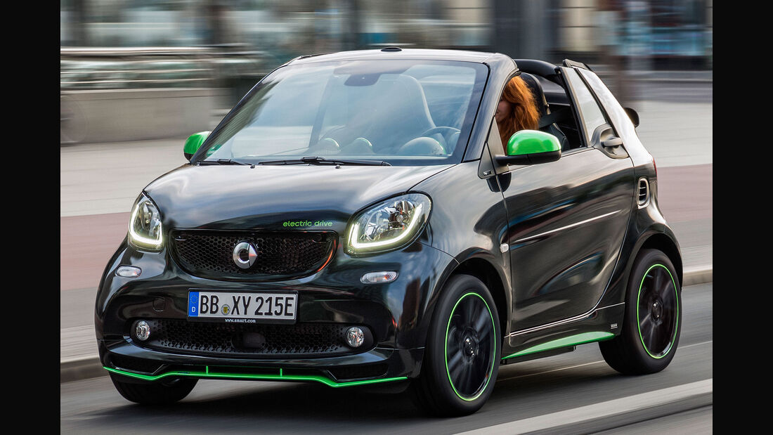 Smart Fortwo Cabrio W 453 electric drive ed (2017)