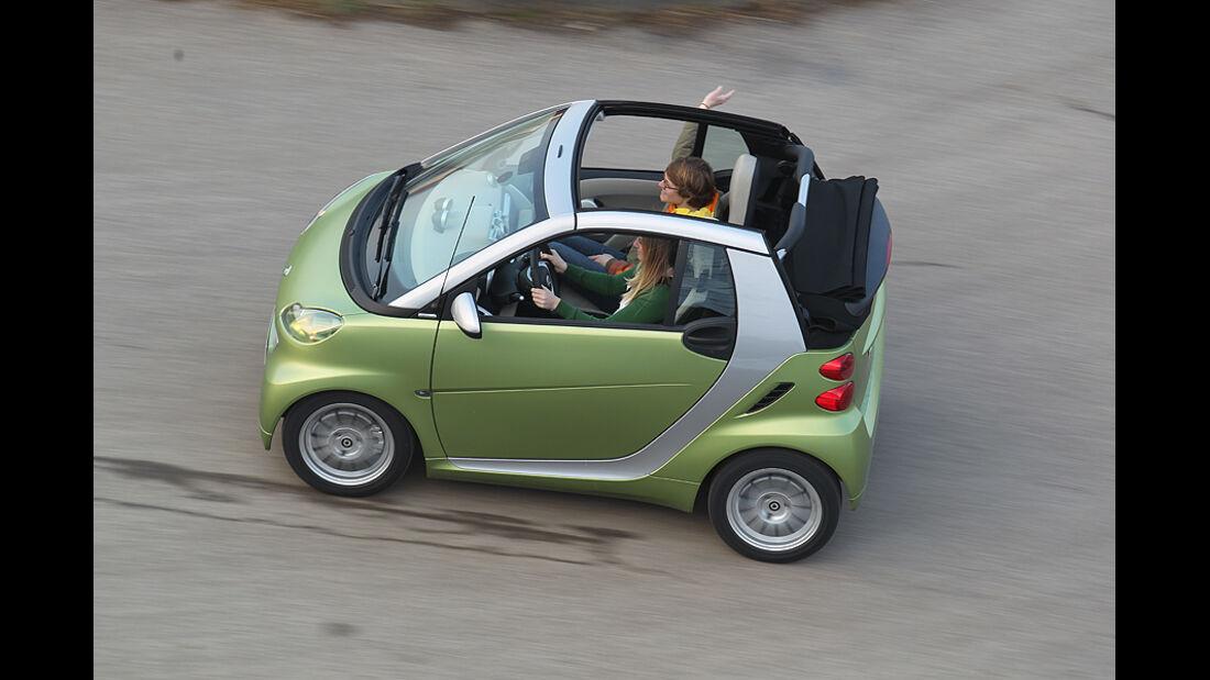 Smart Fortwo Cabrio, faltbares Softtop