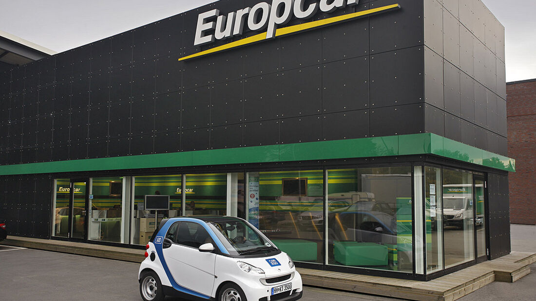 Smart Fortwo Car2Go, Europcar