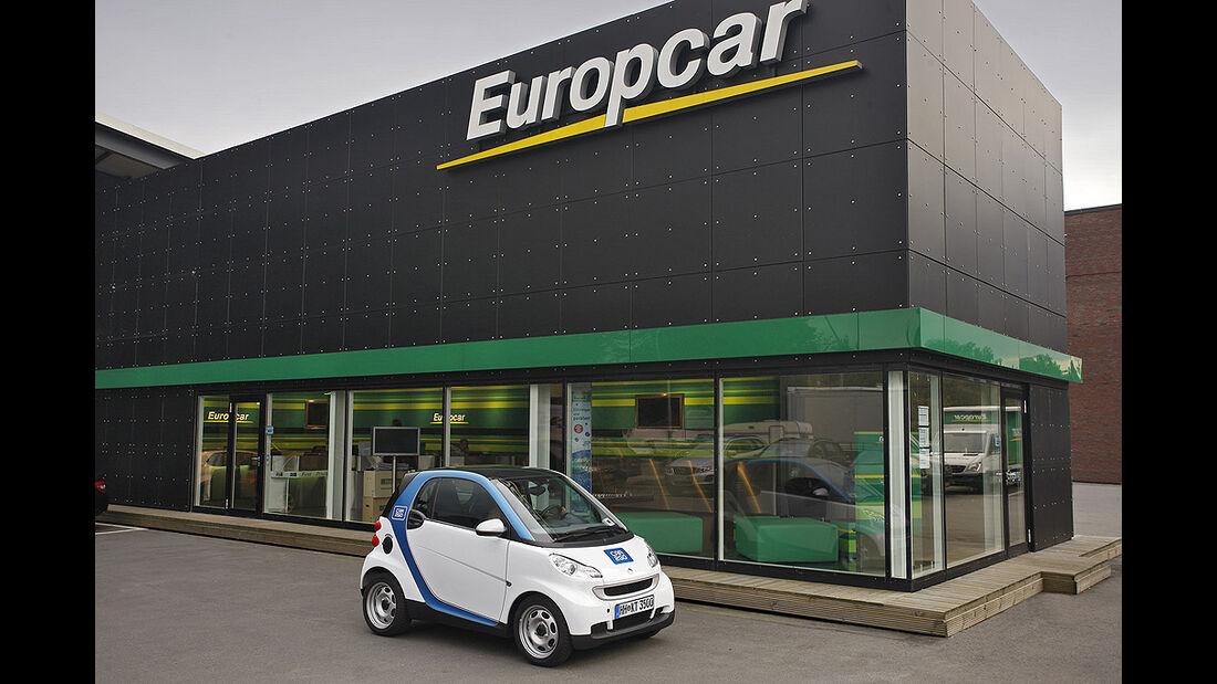 Smart Fortwo Car2Go, Europcar