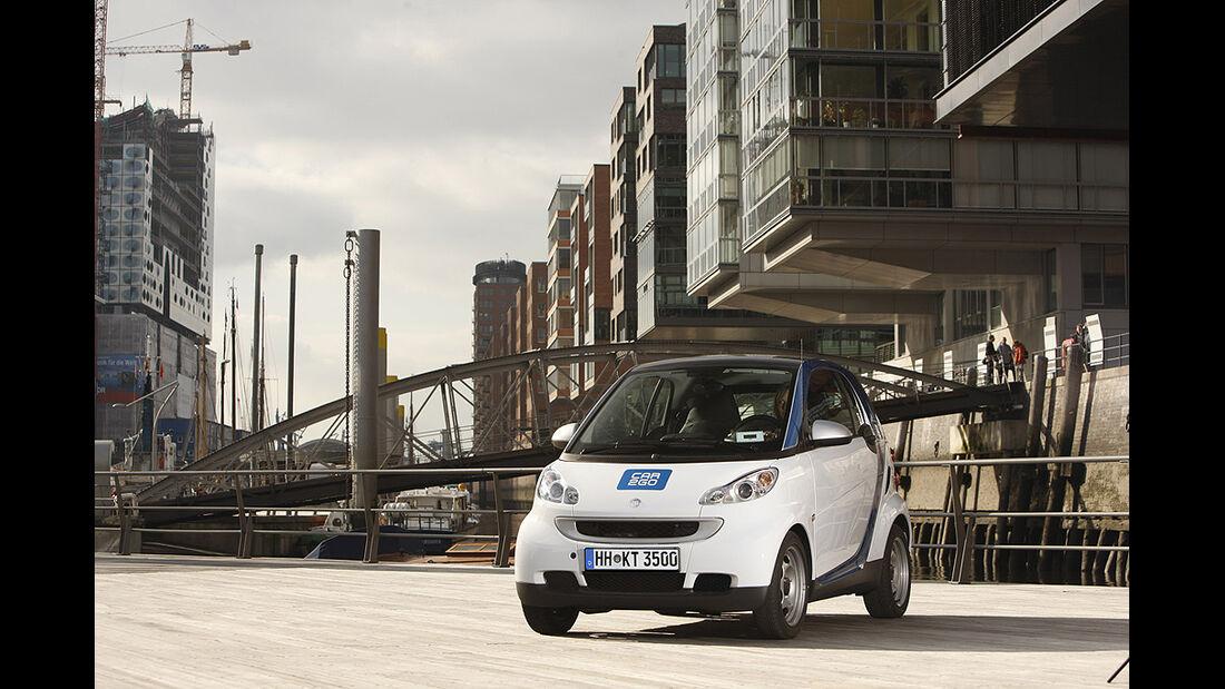 Smart Fortwo Car2Go, Hamburger Hafen