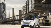 Smart Fortwo Car2Go, Hamburger Hafen