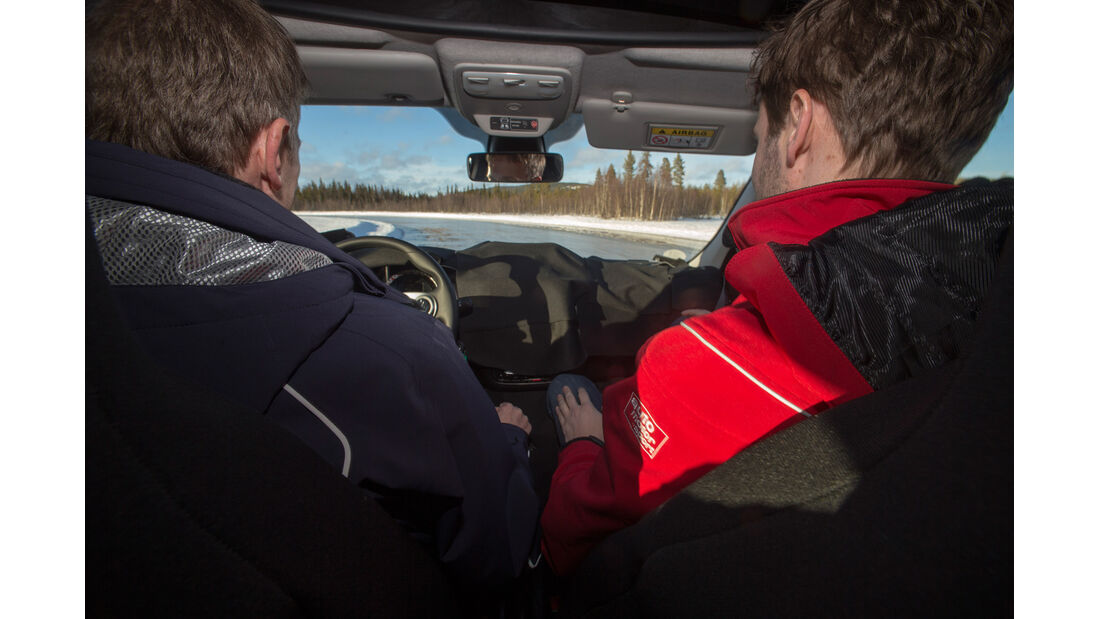 Smart Fortwo, Cockpit, Fahrersicht