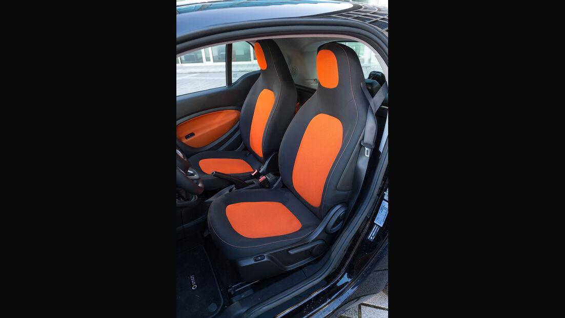 Smart Fortwo Coupé 0.9, Fahrersitz