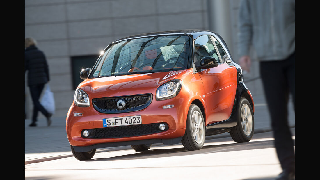 Smart Fortwo Coupé 0.9, Frontansicht
