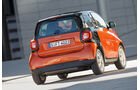 Smart Fortwo Coupé 0.9, Heckansicht