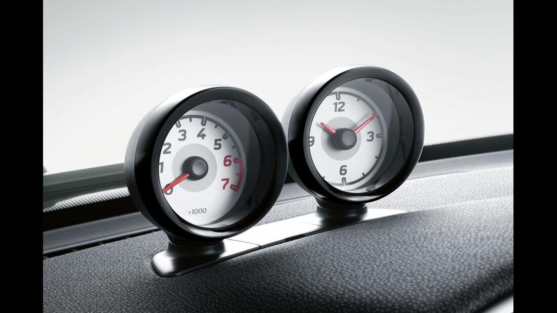 Smart Fortwo, Drehzahlmesser und Uhr